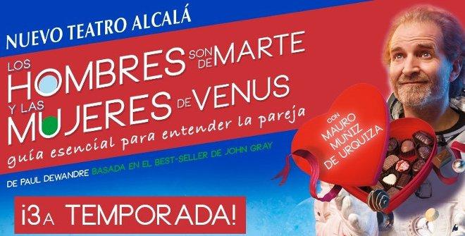 Los hombres son de Marte y las mujeres de Venus