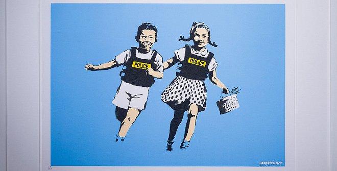 Jack and Jill -Banksy