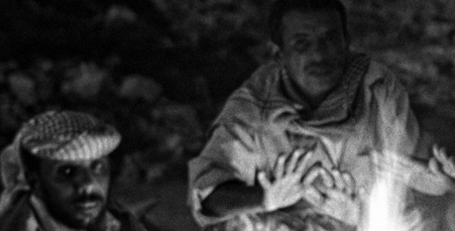 Jordi Esteva. Tormenta cerca de Mut. Oasis de Dahla. 1985 © Jordi Esteva