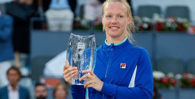 Kiki Bertens (Hol). Ganadora Mutua Madrid Open 2019