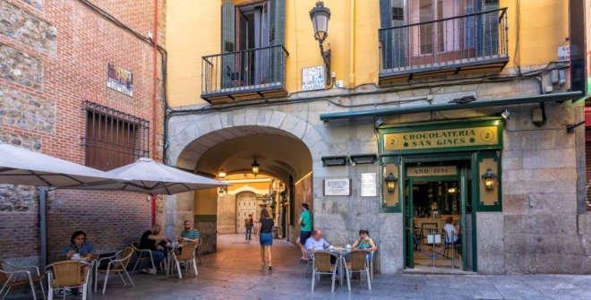 Visita Madrid negro: crimen, bohemia y hampa. Pasadizo de San Ginés