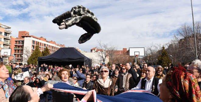 Manteo del pelele Carnaval Madrid 2018
