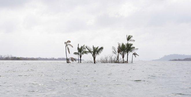 Drowned Island. Main reservoir of the Belo Monte dam, Xingu River, November 02 2016 © Marilene Ribeiro