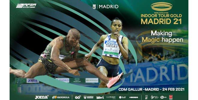 Meeting Villa de Madrid 2021 / Reunión pista cubierta World Athletics Indoor Tour
