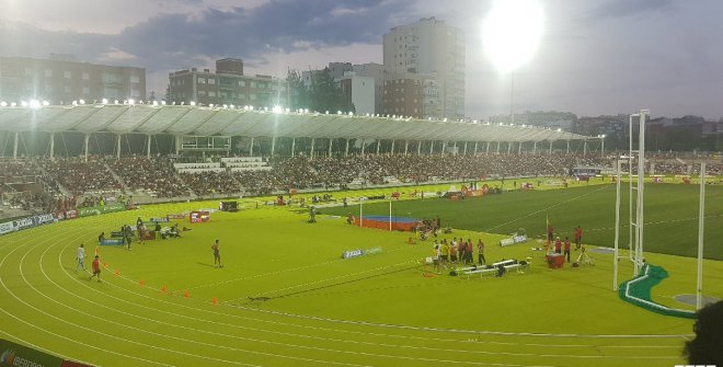 Meeting Madrid 2019. Estadio Vallehermoso. © Real Federación Española de Atletismo