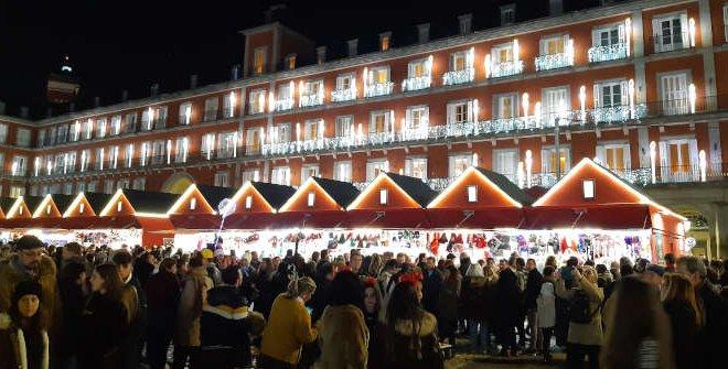 Mercadillo de Navidad Plaza Mayor 2019