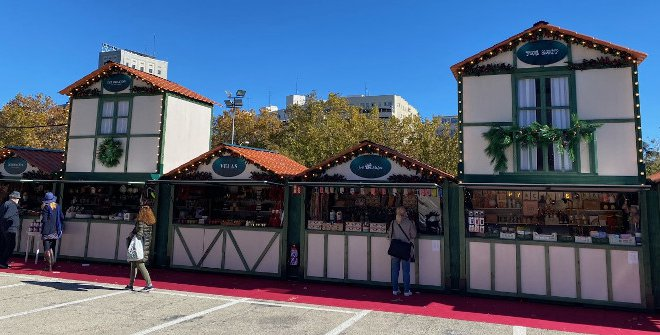 Mercadillo de Navidad - El Corte Inglés Castellana