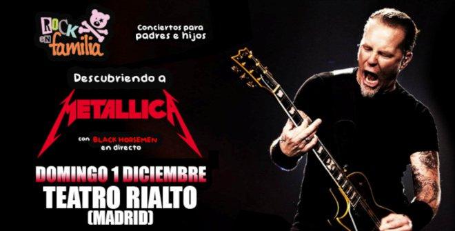 Rock en Familia: Descubriendo a Metallica