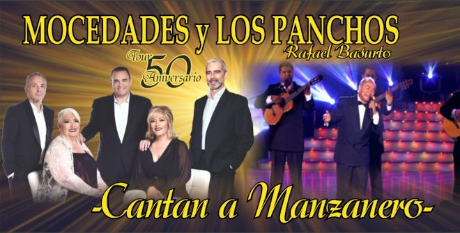 Mocedades y Los Panchos cantan a Manzanero