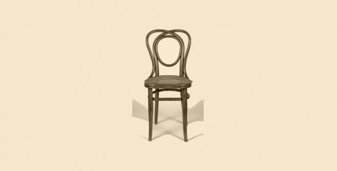 Muebles vieneses de madera curvada. Donación Julio Vives Chillida