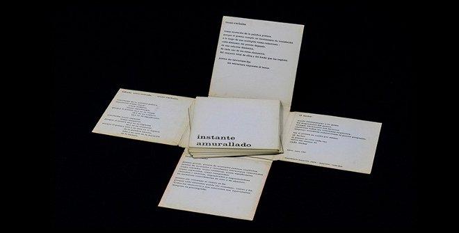 Alfredo Silva-Estrada,Trans-verbales 1, 1969. Diseño de Carlos Cruz-Diez. © Foto: Rafael Guillén (Articruz, Panamá). © Fundación Sonia Sanoja - Alfredo Silva Estrada