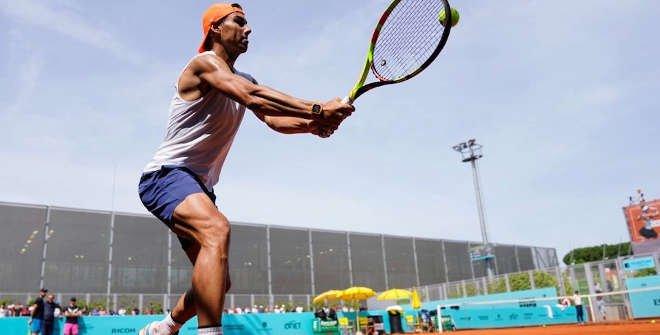 Rafael Nadal. © Mutua Madrid Open 2019