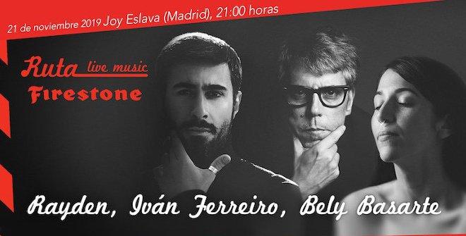 Rayden + Iván Ferreiro + Bely Basarte