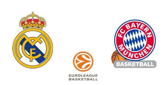 Real Madrid - Bayern Munich (Euroliga. Jornada 23)