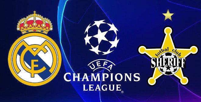 Real Madrid - FC Sheriff Tiraspol (UEFA Champions League)