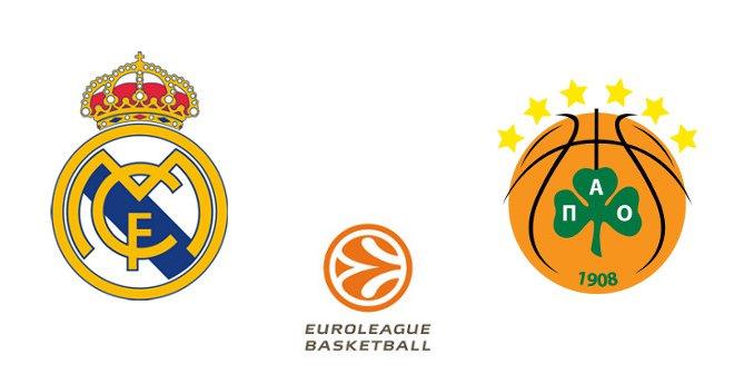 Real Madrid - Panathinaikos BC (Euroliga. Jornada 13)