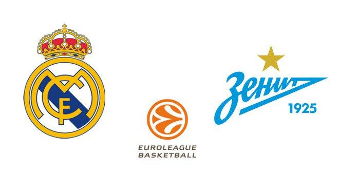 Real Madrid - Zenit de San Petersburgo (Euroliga)