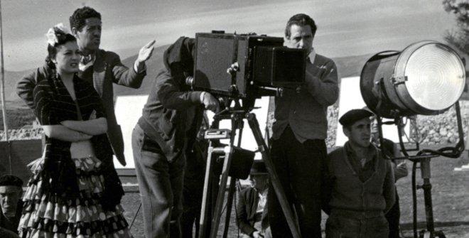 Rodaje de 'Bienvenido Mister Marshall', 1952 © Filmoteca Española