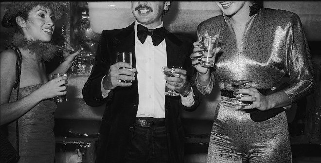 Tod Papageorge. Studio 54, New York, 1978-80. Colección Per Amor a l´Art © Tod Papageorge