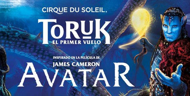 Toruk. Cirque du Soleil