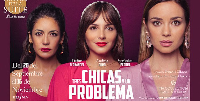 Tres chicas y un problema