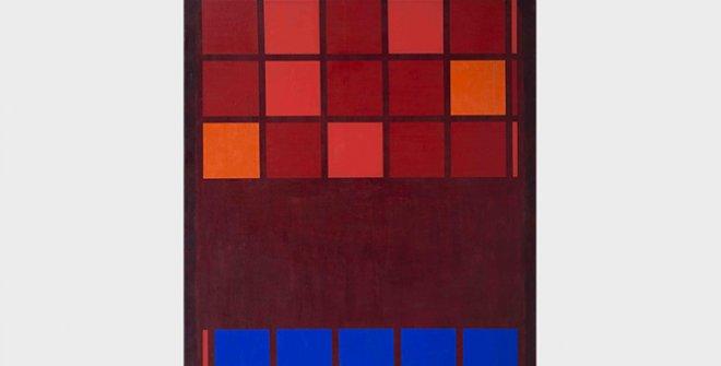 Mohamed Melehi,IBM, 1962. Mathaf: Arab Museum of Modern Art – Qatar Museums y Qatar Foundation