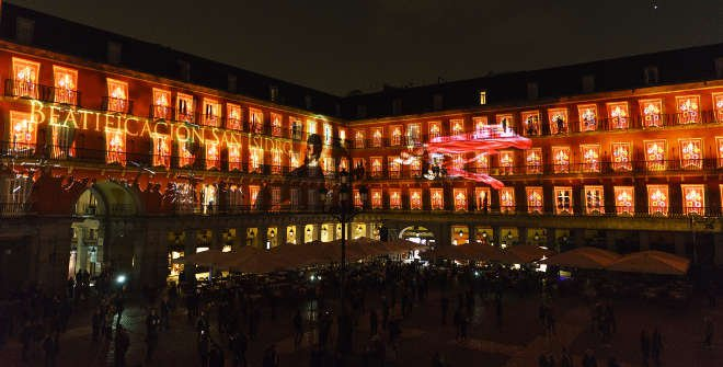 Video Mapping 2017 Plaza Mayor