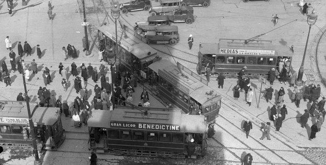 Yo me bajo en la próxima. 150 años del primer tranvía en Madrid