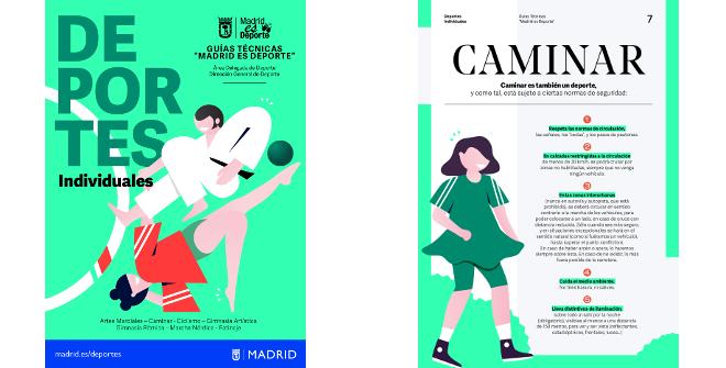 Guía práctica de deportes individuales. Área Delegada de Deporte. Ayuntamiento de Madrid
