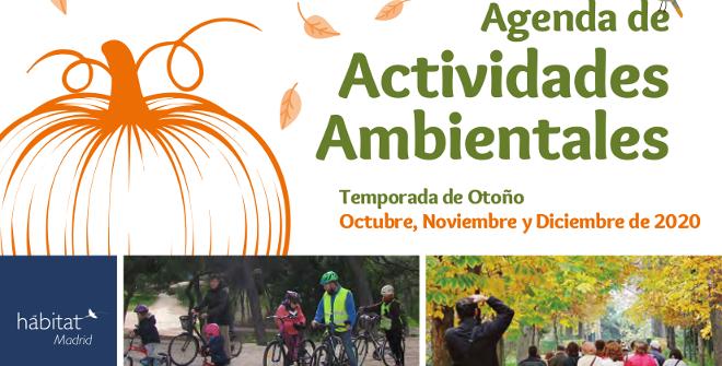 Habitat otoño 2020. Programa de Actividades Ambientales del Ayuntamiento de Madrid.
