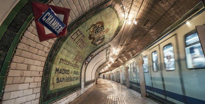 Estación Metro Chamberí