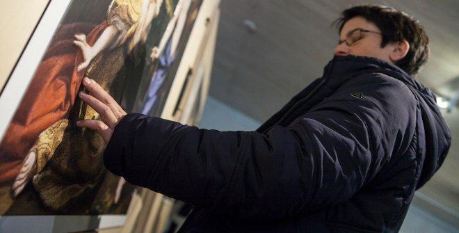 Imagen de la exposición Hoy toca el Prado en el Museo de San Telmo. ©Oskar Moreno