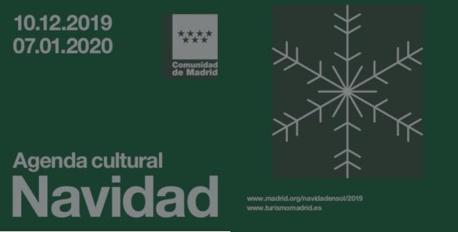 Programa Navidad 2019-2020 de la Comunidad de Madrid