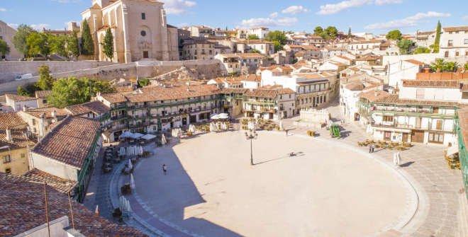 Plaza Mayor de Chinchón © Turismo de Madrid. Comunidad de Madrid
