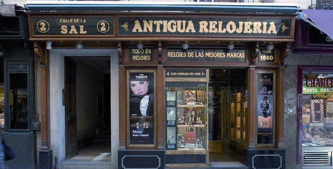 02970698ec0c Antigua Relojería calle de la Sal