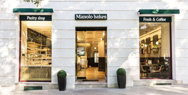 Manolo bakes (Santa Bárbara)