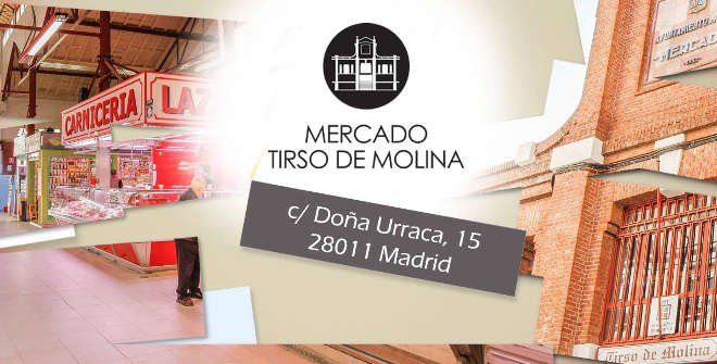 Mercado Tirso de Molina (Calle Doña Urraca, 15)