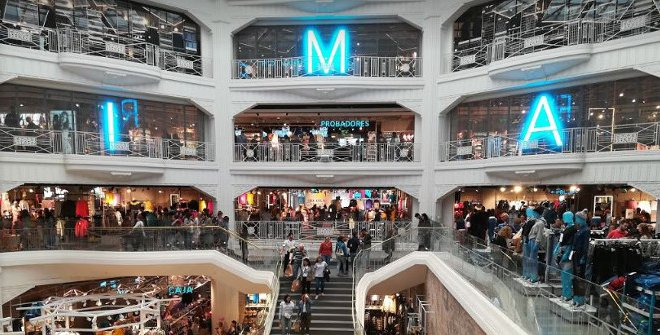 Where are the primark stores in Madrid?