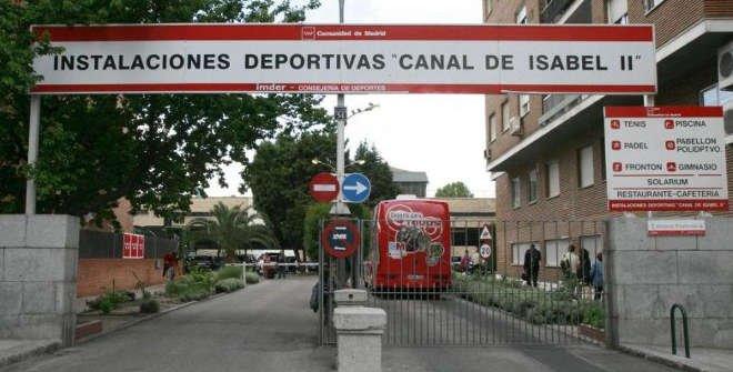 Instalaciones deportivas del Canal de Isabel II