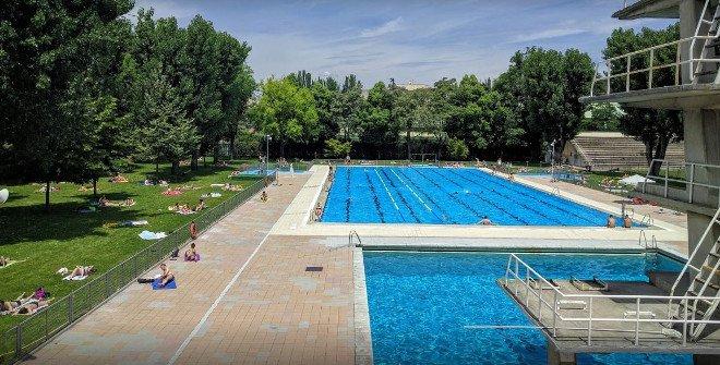 Piscina de la Universidad Complutense de Madrid. Calle Obispo Trejo, 8