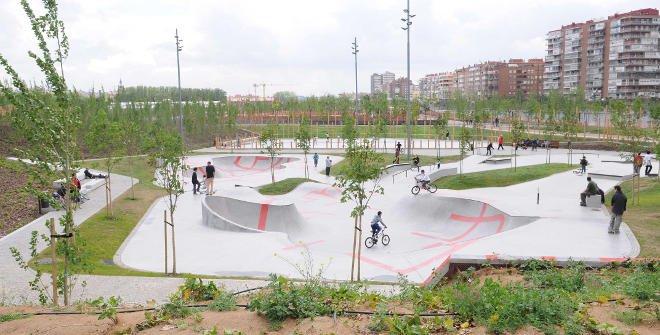 """Pista de Skateboard Ignacio Echevarría """"El héroe del monopatín"""""""