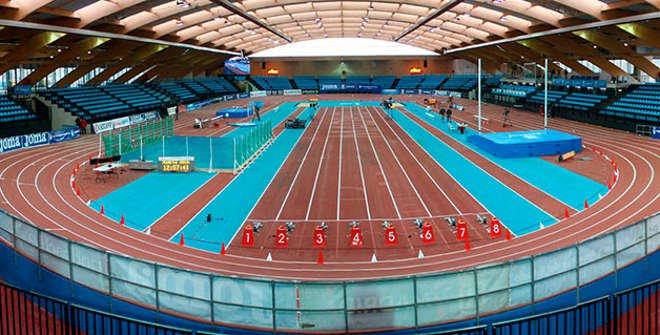 Pista de atletismo Centro Deportivo Municipal Gallur
