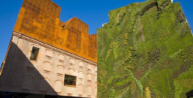Parcs et jardins for Jardin vertical caixaforum madrid