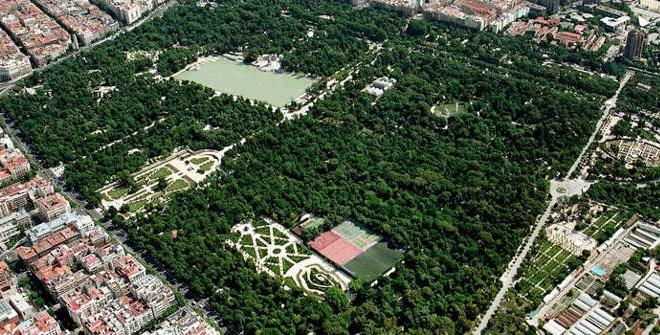 Mapa Parque Del Retiro.Parque De El Retiro Madrid