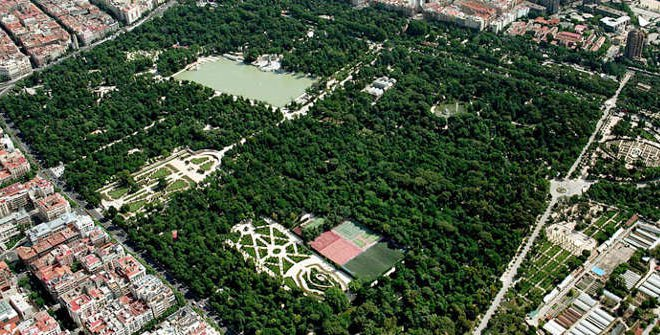 Parque De El Retiro Turismo Madrid