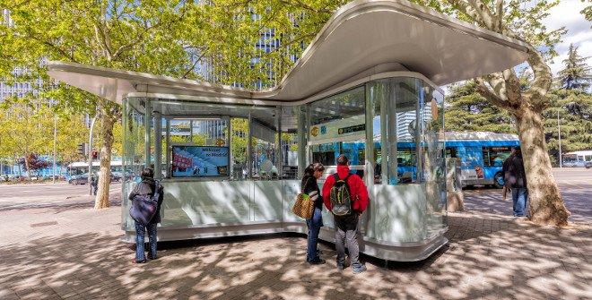 Punto de información Turística Estadio Santiago Bernabéu