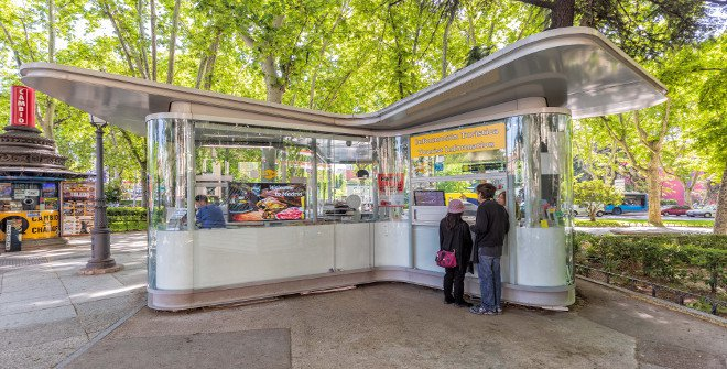 Punto de información Turística Paseo del Prado