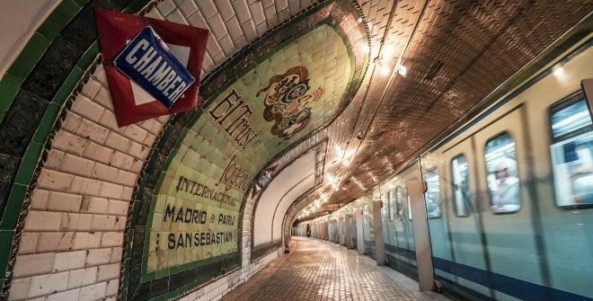 Andén 0. Estación de Chamberí