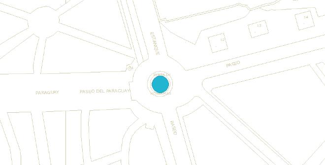 Plano ubicación Fuente de la Alchofa