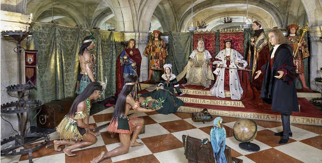 Colón, Museo de Cera de Madrid